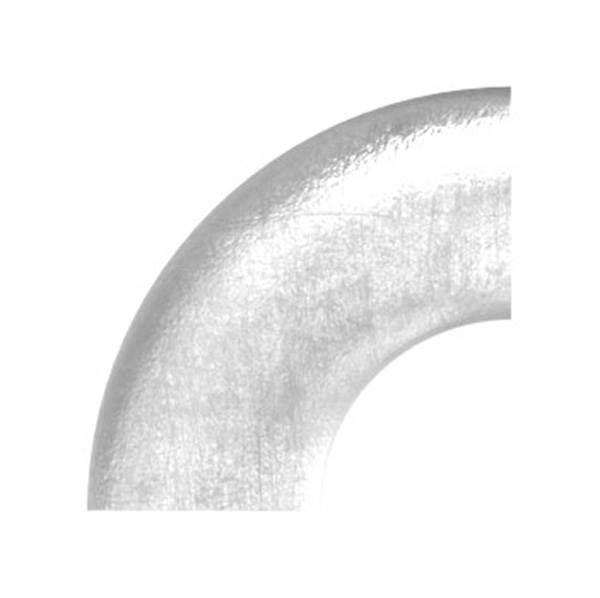 Bogen 90° zum Schweißen für Rundrohr Ø 21,3 mm V2A