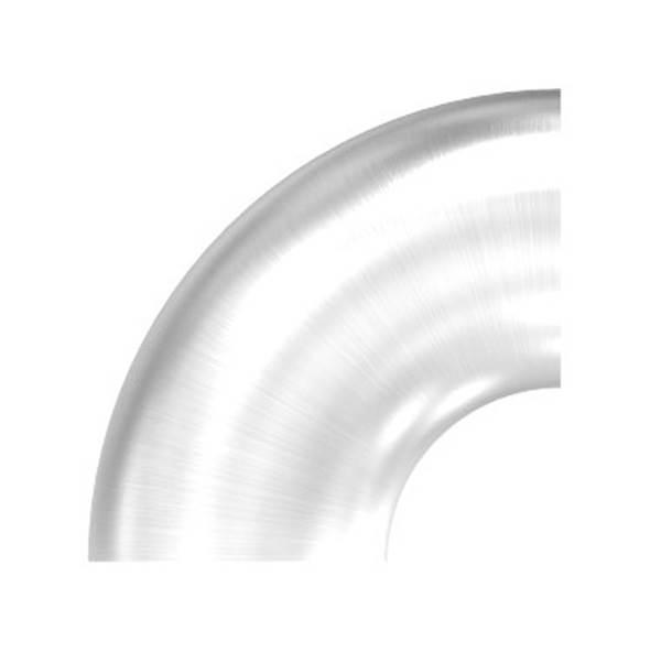 Bogen 90° zum Schweißen für Rundrohr Ø 26,9 mm V2A