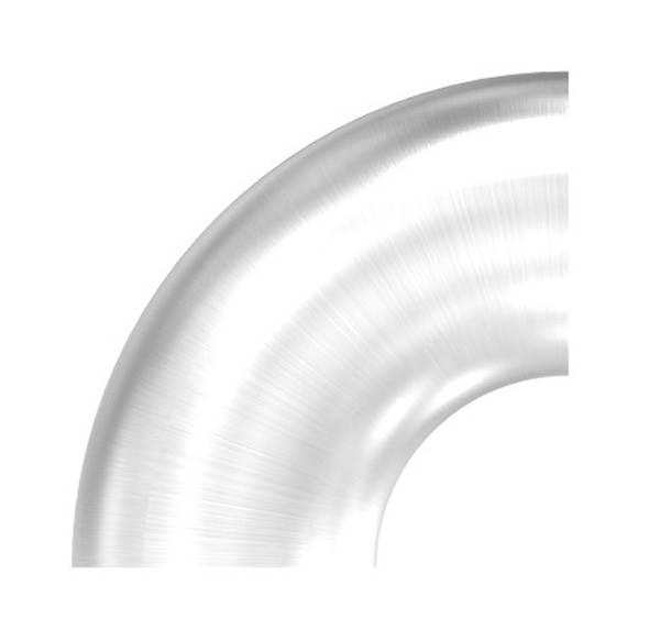 Bogen 90° zum Schweißen für Rundrohr Ø 33,7 mm V2A