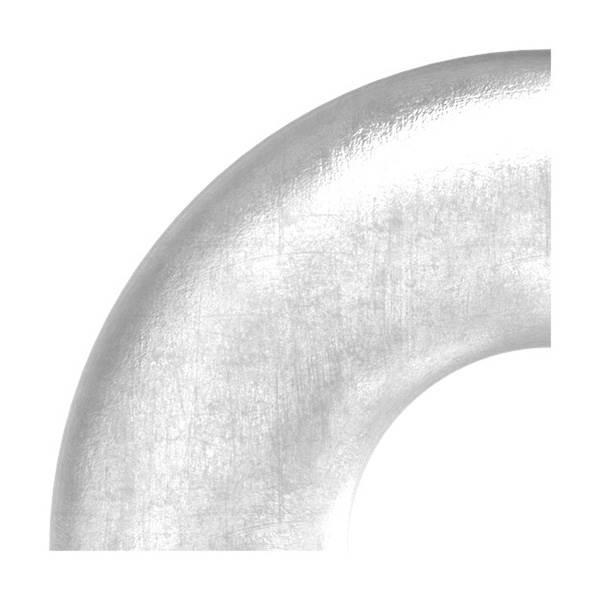 Bogen 90° zum Schweißen für Rundrohr Ø 48,3 mm V2A