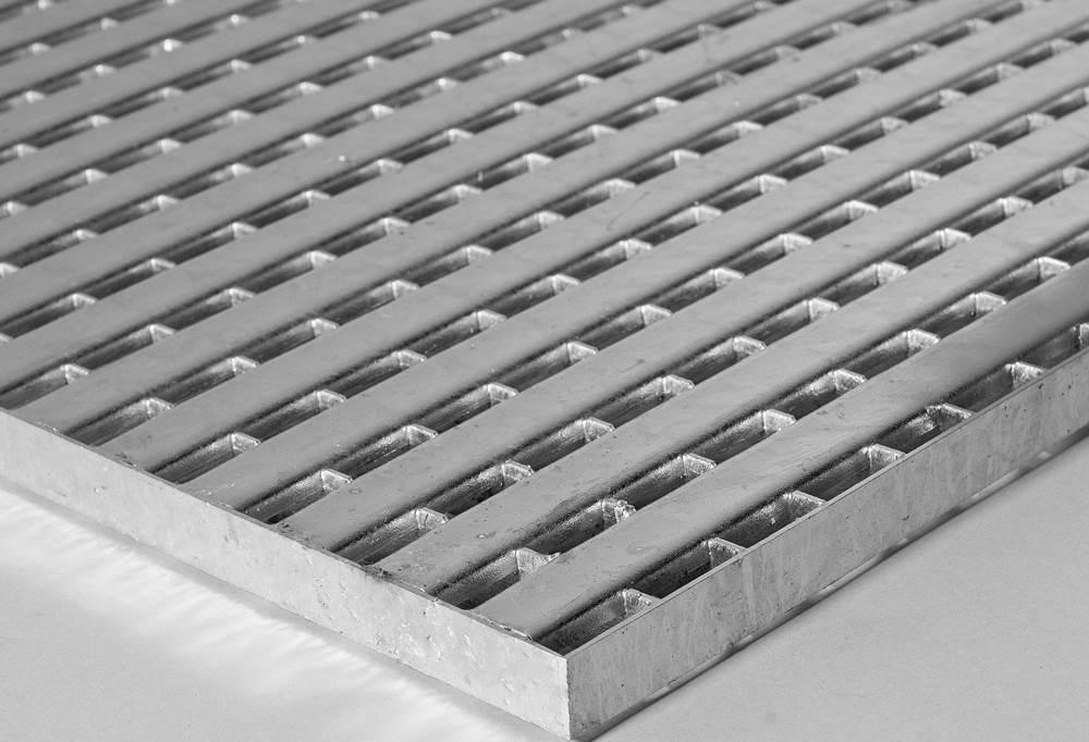 Bootsstegrost Barfußrost 500x500 mm 25/2 mm