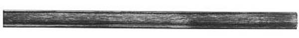 Bundmaterial | Maße: 14x4x3 mm | Länge: 2000 mm | Stahl S235JR, roh
