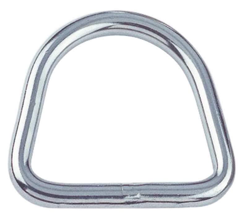 D-Ring Edelstahl | Länge: 15 mm - 50 mm | V4A
