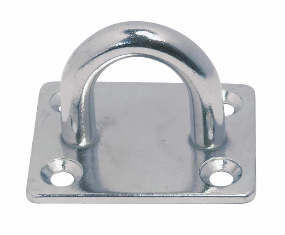Decksplatte | eckig | Breite: 30 mm - 40 mm | V2A