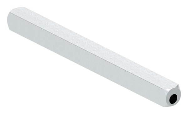 Drückerstift   Länge: 100 mm   Maße: 8x8 mm   Stahl S235JR, verzinkt