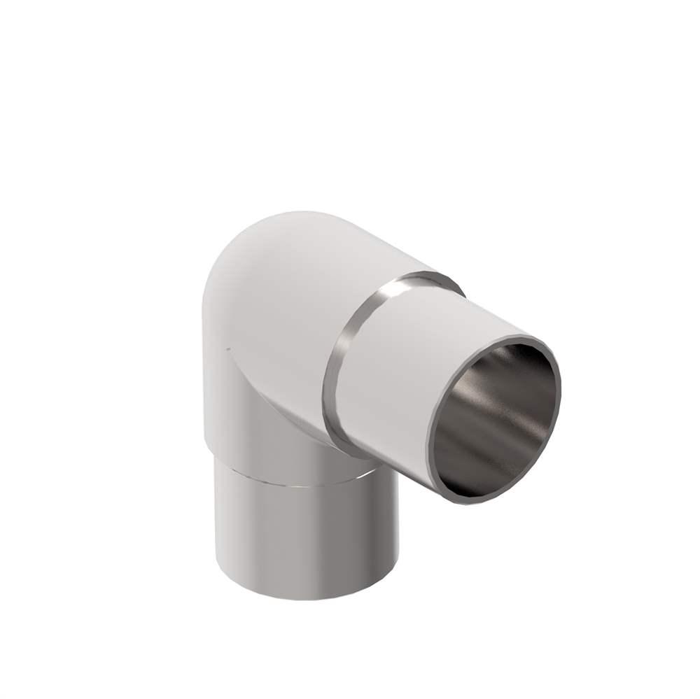 Eckbogen 90° eng V2A für Rundrohr Ø 42,4x2,0 mm