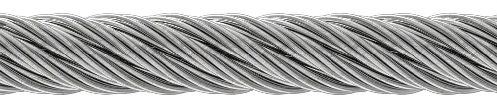 Edelstahlseil 7x7 | flexibel | Ø 2 mm bis Ø 8 mm | Preis pro Meter | V4A