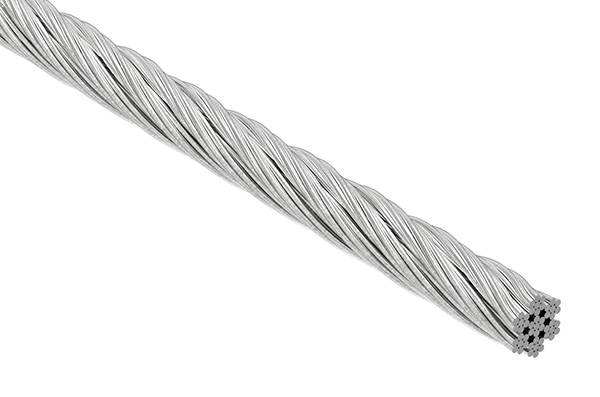 Edelstahlseil 7x7 | flexibel | Ø 4 mm | Preis pro Meter | V4A