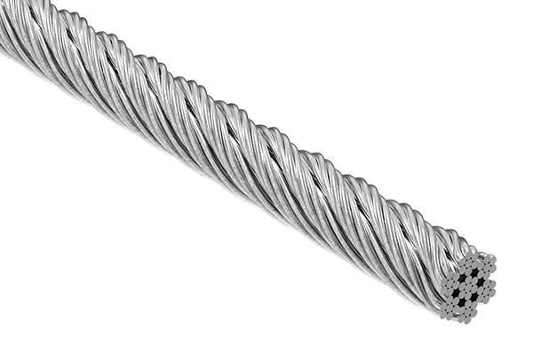 Edelstahlseil 7x7 | flexibel | Ø 5 mm | Preis pro Meter | V4A