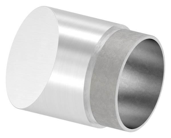 Endstück 45°, für Rundrohr Ø 60,3x2,0 mm V2A