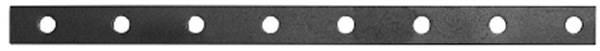 Flacheisen | gelocht | Länge: 2000 mm | Material 30x6 mm | Stahl S235JR, roh