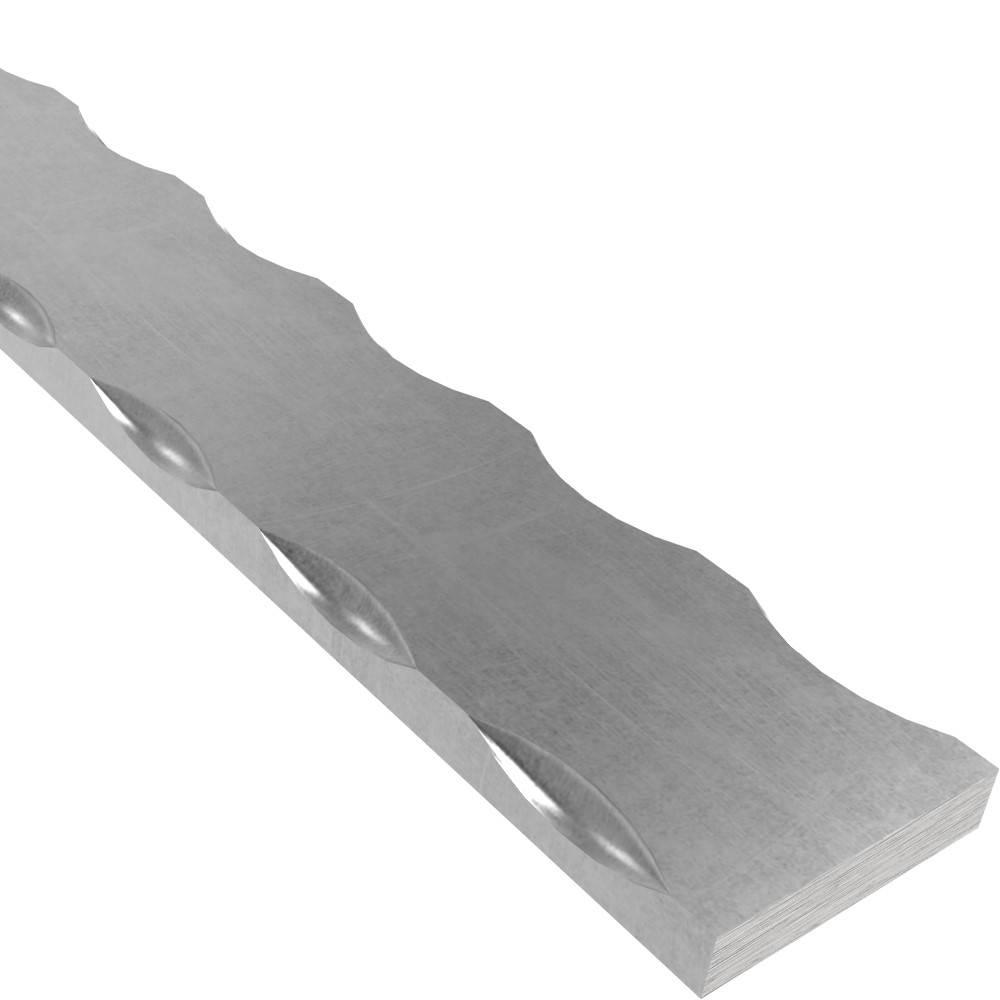 Flacheisen | Länge: 3000 mm | Material 50x10 mm | Stahl (Roh) S235JR