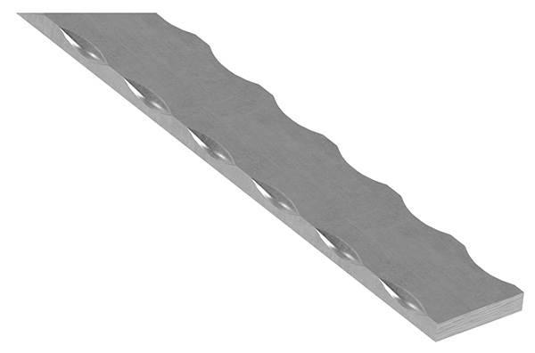 Flacheisen | Länge: 3000 mm | Material: 60x8 mm | Stahl (Roh) S235JR