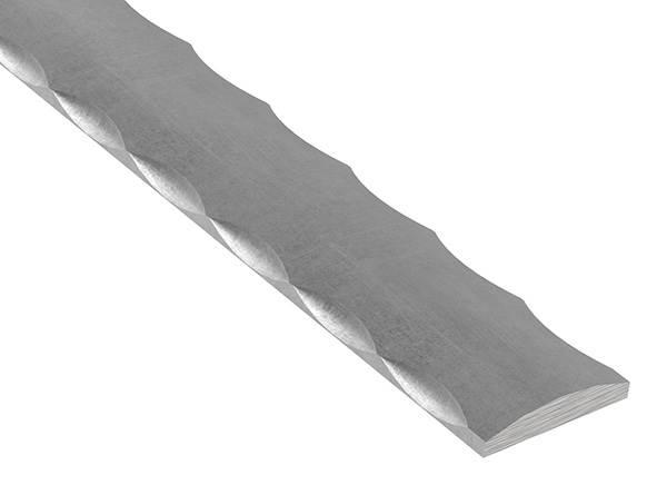 Flacheisen | Material: 40x8 mm | Länge: 3000 mm | Stahl (Roh) S235JR