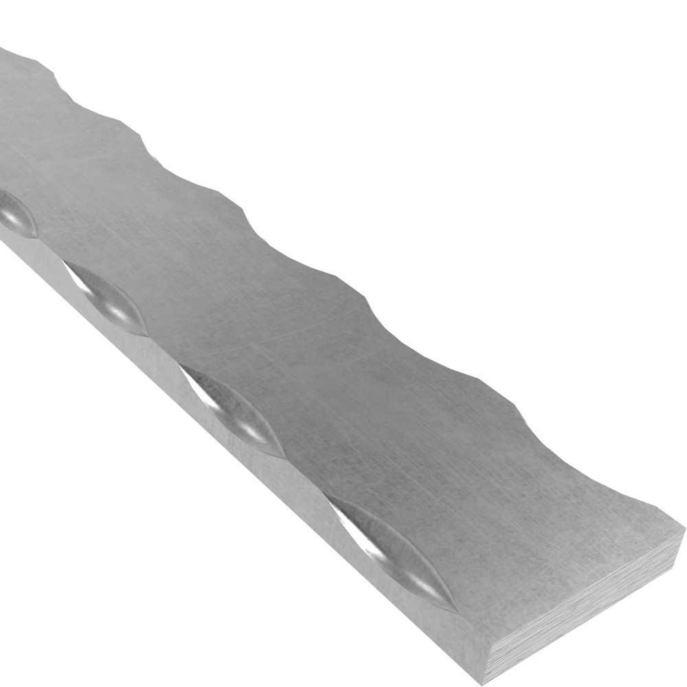 Flacheisen | Material: 25x8 mm | Länge: 3000 mm | Stahl (Roh) S235JR