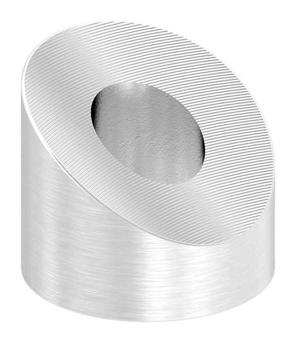 Formanschluss | für Anschluss Ø 42,4 mm | Gewinde M4 - M8 | V2A