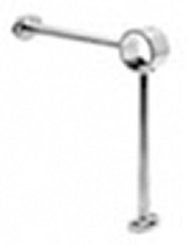 Fußlaufstütze für Ø 48,3 mm V2A