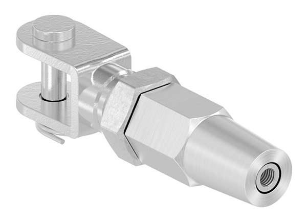 Gabelterminal zur Selbstmontage   Für Seil Ø 4 mm   V4A