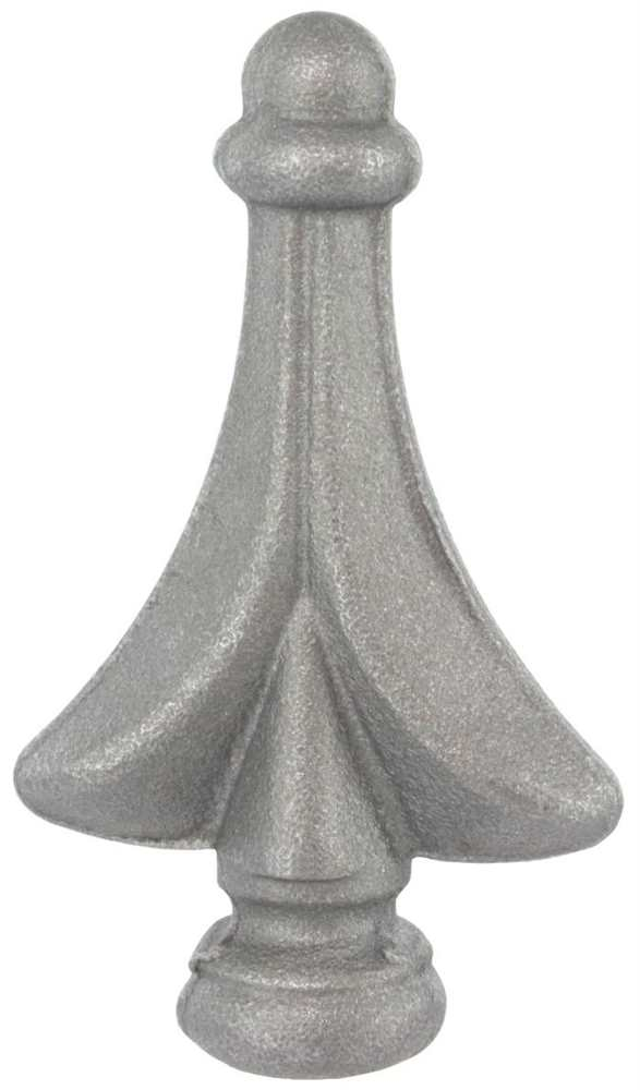 Zaunspitze | Höhe: 80 mm | Material: Ø 20 mm | Stahl S235JR, roh