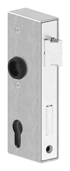 Gegenkasten | Maße: 172x45x40 mm | Stahl (roh) S235 JR