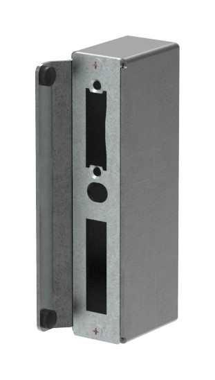 Gegenkasten | Maße: 40x60x173 mm | Stahl (Roh) S235JR
