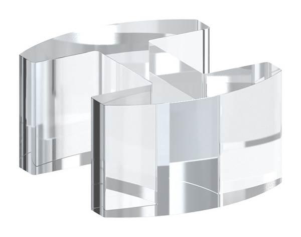 Glasausrichter | für Glas: 12,76-13,52 mm | PMMA Kunststoff
