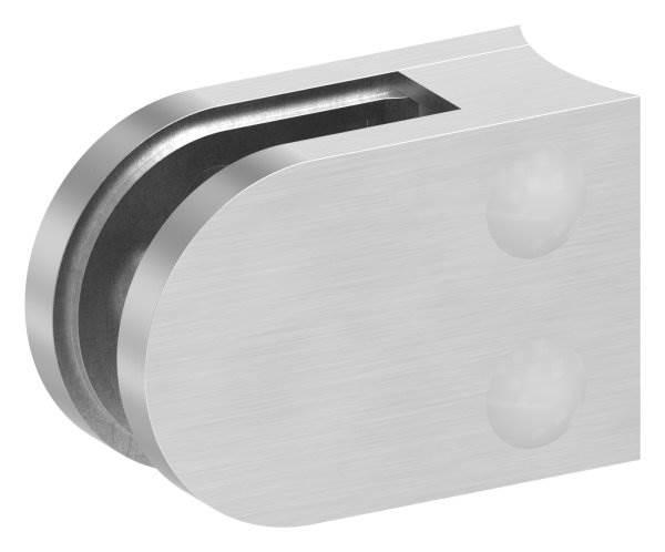 Glasklemme 63x45x28 mm für Anschluss Ø 60,3 mm V4A