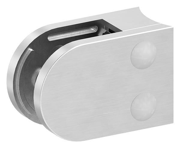 Glasklemme 63x45x30 mm AbZ für Anschluss Ø 60,3 mm V2A