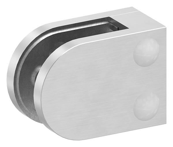 Glasklemme 63x45x30 mm AbZ für Anschluss flach V2A