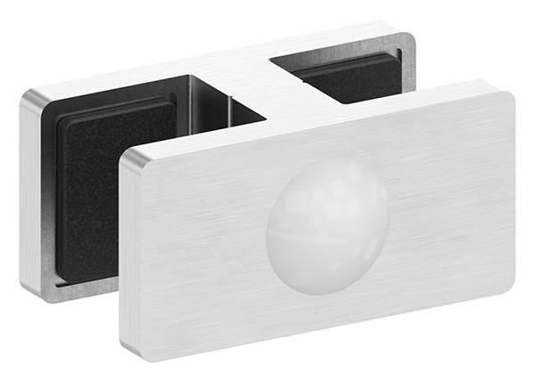 Glasklemme Doppel Glasscheibe  12,76 mm - 13,52 mm
