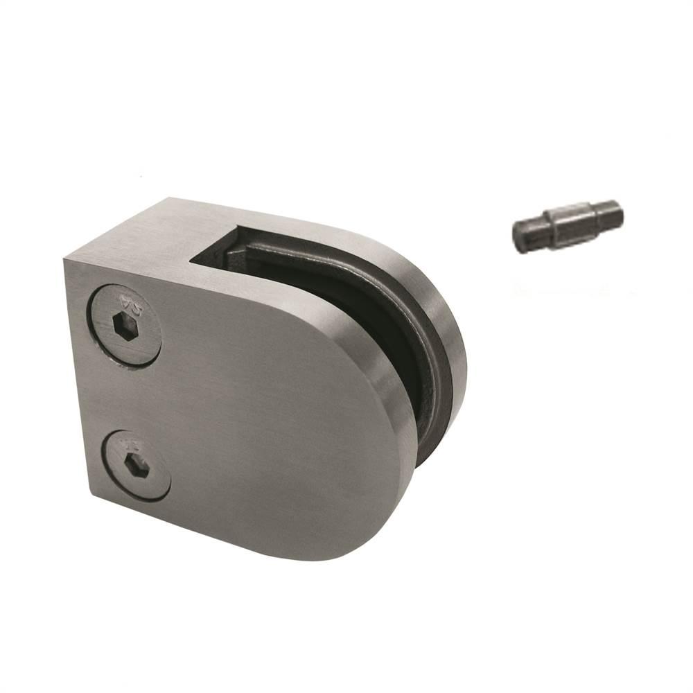 Glasklemme | Maße: 50x40x26 mm | Anschluss flach | Zink
