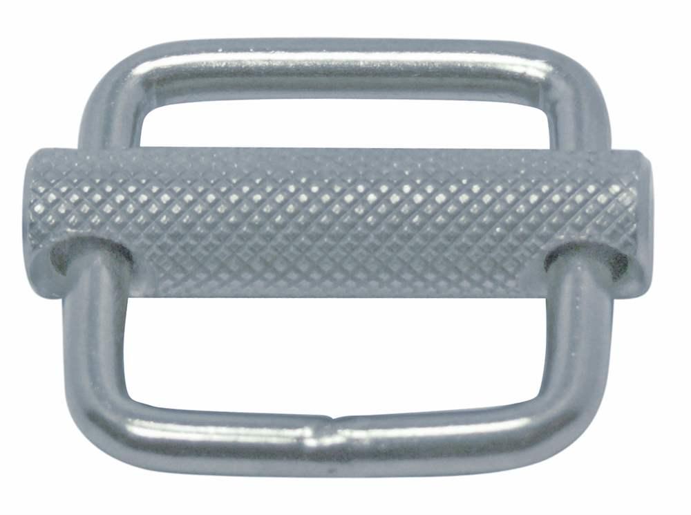 Gurtschnalle | mit beweglichem Steg | Breite: 25 mm - 30 mm | V2A
