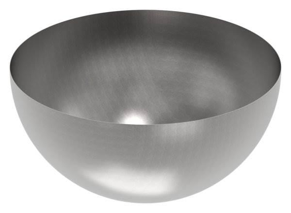 Halbhohlkugel Ø 1000 mm | glatt | Stahl S235JR, roh