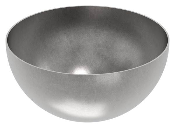 Halbhohlkugel Ø 200 mm | glatt | Stahl S235JR, roh