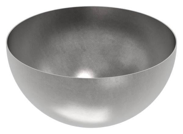 Halbhohlkugel Ø 300 mm | glatt | Stahl S235JR, roh