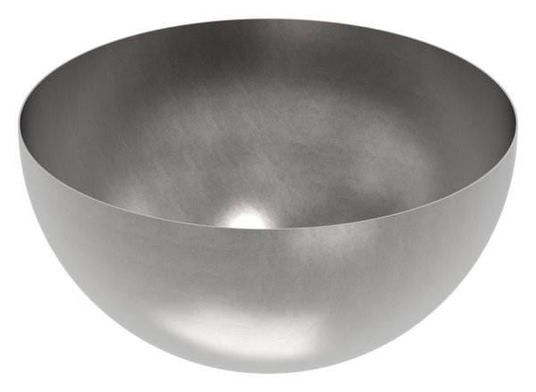 Halbhohlkugel Ø 500 mm | glatt | Stahl S235JR, roh