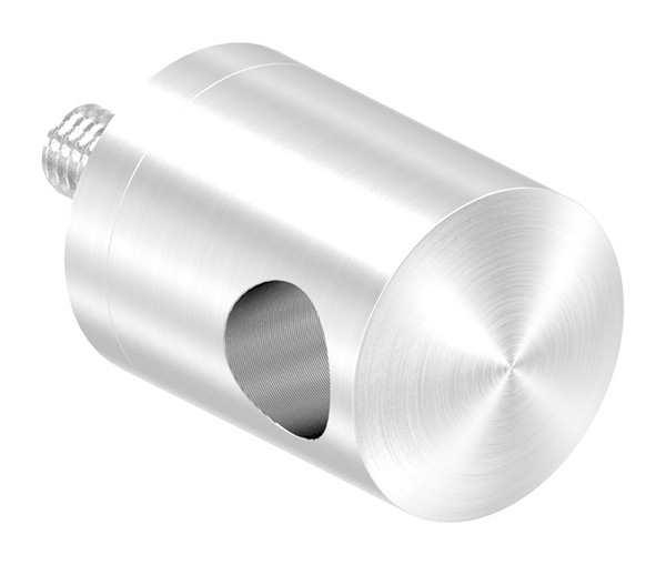 Halterung für Seilhalter | Für Anschluss flach und Ø 42,4 mm | V2A