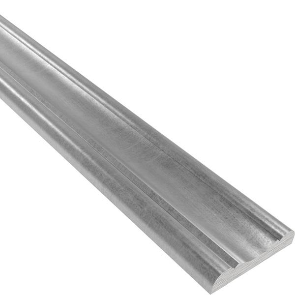 Handlauf | Material: 41x8 mm | Länge: 3300 mm | Stahl (Roh) S235JR