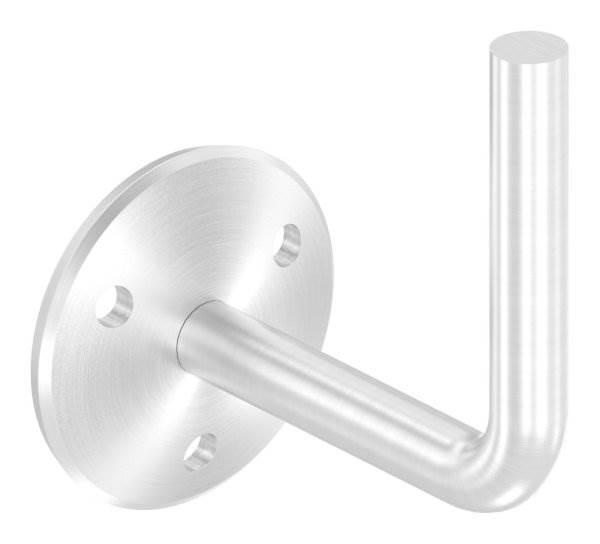 Handlaufhalter mit Ronde 58x4 mm zum Anschweißen V2A