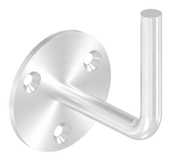 Handlaufhalter mit Ronde 70x4 mm zum Anschweißen V2A
