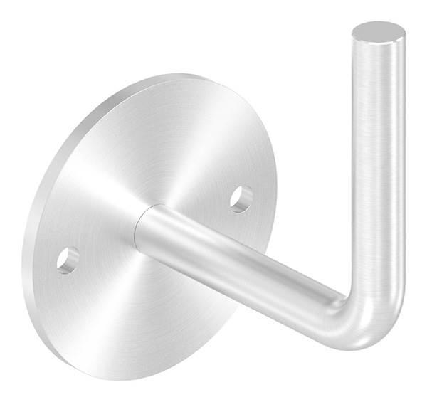 Handlaufhalter Ronde 70 x 4 mm mit Bügel 12 mm V2A