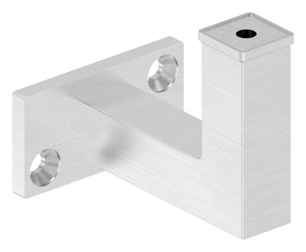 Handlaufhalter zum Anschweißen/Aufschrauben (flach) V2A