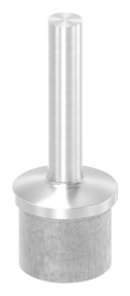 Handlaufstütze aus einem Stück für  42,4x2,6 mm V4A