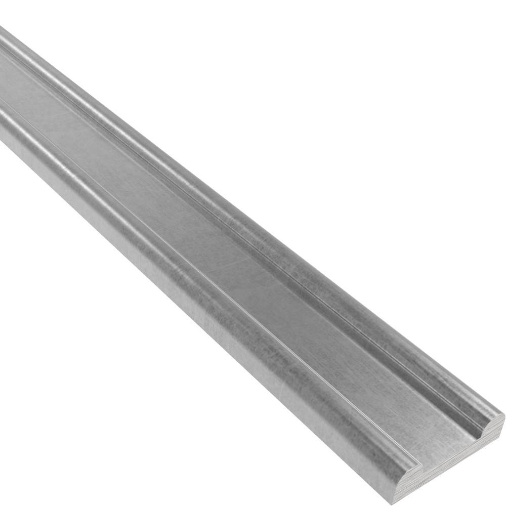 Hespeneisen   Maße: 40x8x4 mm   Länge: 6000 mm   Stahl S235JR, roh