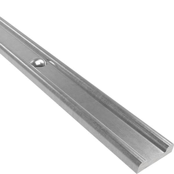 Hespeneisen mit Nieten   Material: 30x8x4 mm   Länge: 3000 mm   Stahl (Roh) S235JR