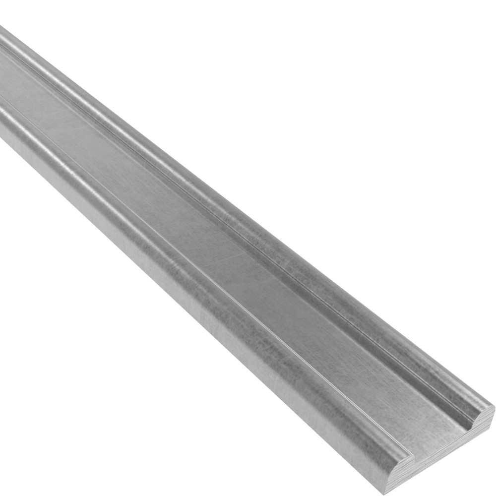 Hespeneisen | 40x13x5,5 mm | 6000 mm Stahl | Stahl (Roh) S235JR