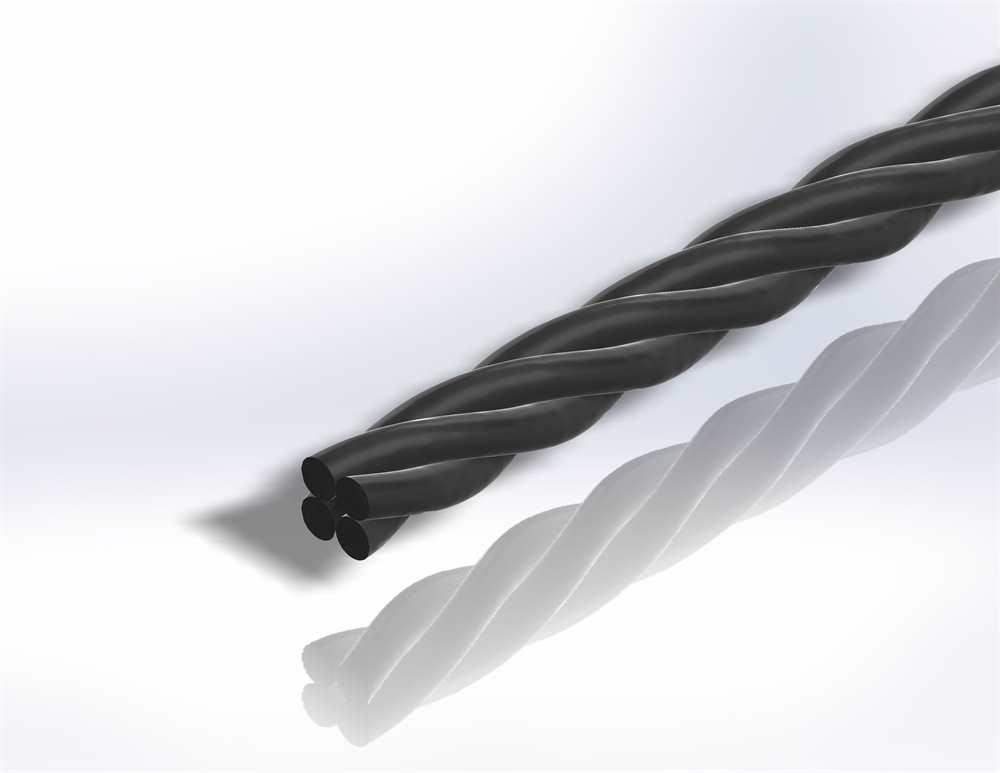 Gereeperter Handlauf | Material Ø 24 mm | Länge 2700 mm | Stahl (Roh) S235JR