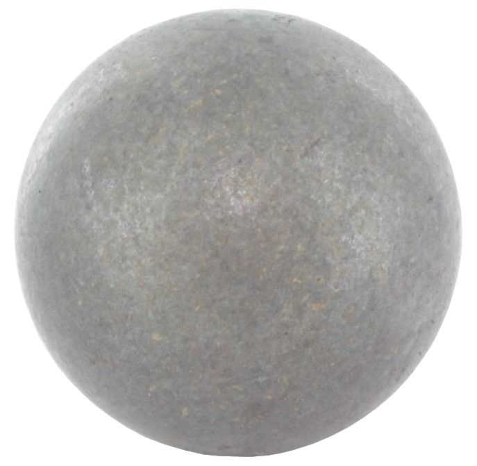 Vollkugel Ø 15 mm | massiv glatt | (geschmiedet) | Stahl S235JR, roh