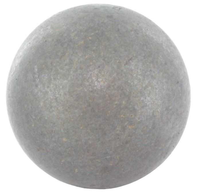 Vollkugel Ø 25 mm | massiv glatt | (geschmiedet) | Stahl S235JR, roh