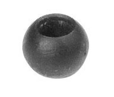 Annietkugel | Ø 10 mm Kopf | Ø 4 mm Bohrung | Stahl (Roh) S235JR